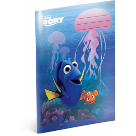 Exercise book Finding Dory – Marlin, A5, 40 sheets, unlined