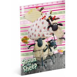 Školní sešit Ovečka Shaun, A4, 40 listů, linkovaný