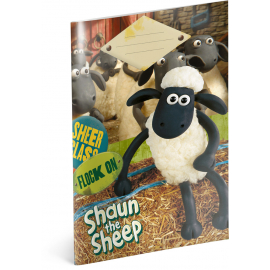 Exercise book Shaun the Sheep, A5, 20 sheets, lined