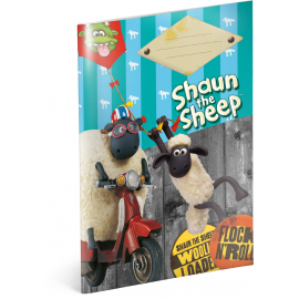 Exercise book Shaun the Sheep, A5, 20 sheets, unlined