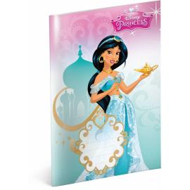 Školní sešit Princezny – Jasmine, A5, 40 listů, čtverečkovaný