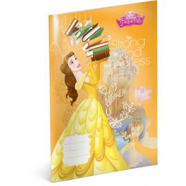 Školní sešit Princezny – Kráska, A4, 40 listů, nelinkovaný
