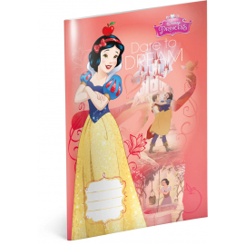 Exercise book Princess – Snow White, A4, 40 sheets, lined