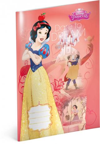 Školní sešit Princezny – Sněhurka, A4, 40 listů, linkovaný
