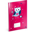 Exercise book Little Owls, A4, 40 sheets, lined
