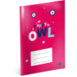 Exercise book Little Owls, A5, 40 sheets, squared