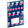 Exercise book Little Owls, A5, 40 sheets, unlined