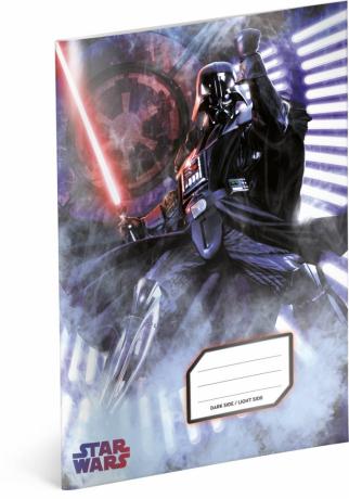 Školní sešit Star Wars – Darth Vader, A4, 40 listů, linkovaný