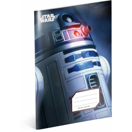 Exercise book Star Wars – R2-D2, A5, 40 sheets, squared