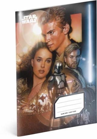 Školní sešit Star Wars – Revenge, A5, 40 listů, nelinkovaný
