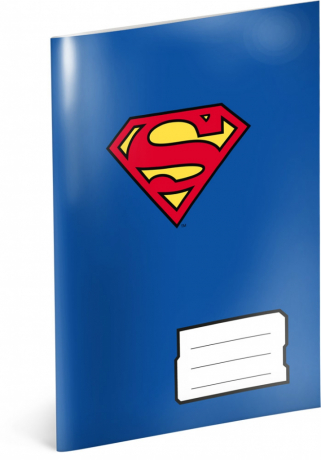 Exercise book Superman – Heart,  A5, 40 sheets, lined