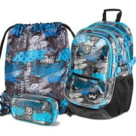 BAAGL SET 3 Freestyle: school bag, school pencil case, gym sack