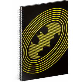 Spiral notebook Batman – Circles, lined, A5