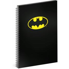 Spirálový blok Batman – Classic, linkovaný, A4