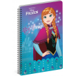 Spirálový blok Frozen – Ledové království Anna, A4, nelinkovaný