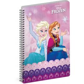 Spirálový blok Frozen – Ledové království Joy, A5, nelinkovaný