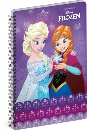 Spiral notebook Frozen – Together, A5, lined