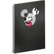 Spirálový blok Mickey – Question, linkovaný, A4