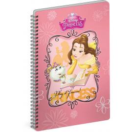 Spiral notebook Princess – Book, A5, lined