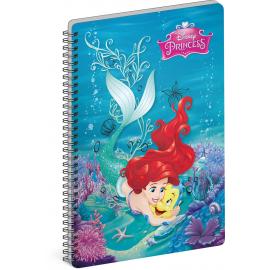 Spiral notebook Princess – Flounder, A4, unlined