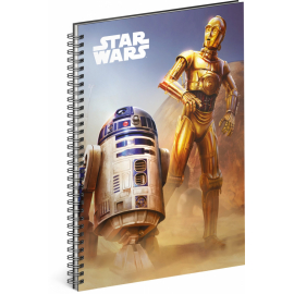 Spiral notebook Star Wars – Droid, lined, A5