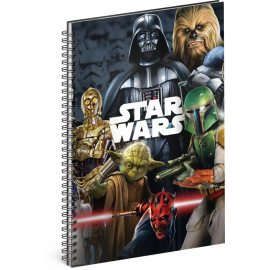 Spiral notebook Star Wars – Mix, lined, A4