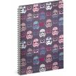 Spiral notebook Star Wars – Pattern, lined, A5
