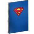 Spirálový blok Superman – Blue, linkovaný, A4