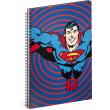Spirálový blok Superman – Circles, linkovaný, A5