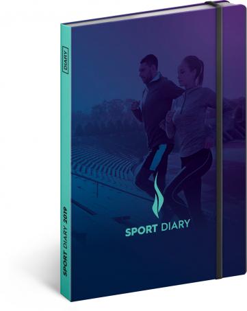 Sportovní diář 2019, 15 x 21 cm