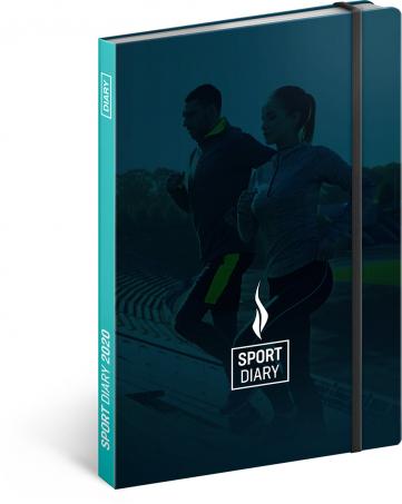 Sportovní diář 2020, 15 × 21 cm