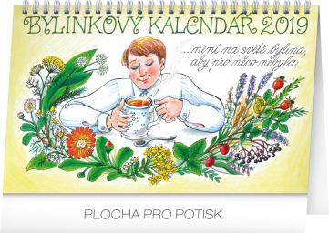 Stolní bylinkový kalendář – Kamila Skopová 2019, 23,1 x 14,5 cm