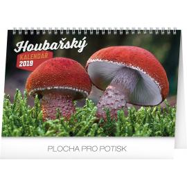 Stolní houbařský kalendář 2019, 23,1 x 14,5 cm