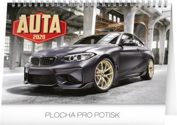 Desk calendar Cars 2020, 23,1 × 14,5 cm