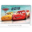 Stolní kalendář Auta 3 2019, 23,1 x 14,5 cm