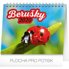 Desk calendar Ladybugs planner 2020, 16,5 × 13 cm