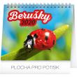 Stolní kalendář Berušky 2020, 16,5 × 13 cm