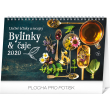 Stolní kalendář Bylinky a čaje SK 2020, 23,1 × 14,5 cm