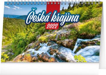 Stolní kalendář Česká krajina 2022, 23,1 × 14,5 cm