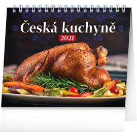 Desk calendar Czech Cuisine 2021, 16,5 × 13 cm