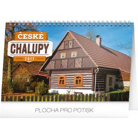 Stolní kalendář České chalupy 2017, 23,1 x 14,5 cm
