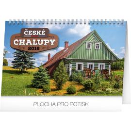 Stolní kalendář České chalupy 2018, 23,1 x 14,5 cm