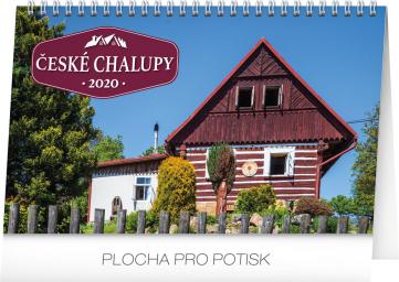 Stolní kalendář České chalupy 2020, 23,1 × 14,5 cm