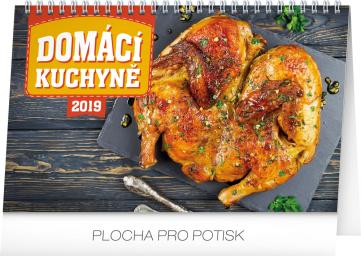 Stolní kalendář Domácí kuchyně 2019, 23,1 x 14,5 cm