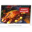 Stolní kalendář Domácí kuchyně 2020, 23,1 × 14,5 cm