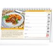 Stolní kalendář Domácí kuchyně 2021, 23,1 × 14,5 cm