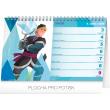 Stolní kalendář Frozen – Ledové království 2020, 23,1 × 14,5 cm