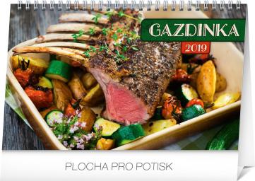 Stolní kalendář Gazdinka SK 2019, 23,1 x 14,5 cm