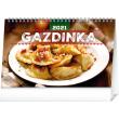 Stolní kalendář Gazdinka SK 2021, 23,1 × 14,5 cm