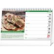 Stolní kalendář Grilujeme SK 2021 , 23,1 × 14,5 cm